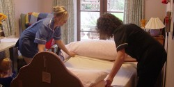 A room at Boars Tye Residential Care Home